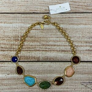 """Kate Spade NWT """"Perfectly Imperfect"""" Bib Necklace"""